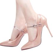防掉跟束鞋带隐形高跟鞋防掉神器