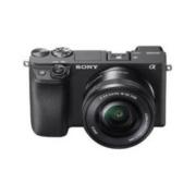 SONY 索尼 Alpha 6400L APS-C画幅 微单相机 典雅黑 E PZ 16-50mm F3.5 OSS 变焦镜头 单头套机