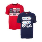FILA 斐乐 COS1386434 男女款运动T恤 两件装¥159.00