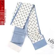 PLUS会员:上海故事   女士丝巾 长丝巾 发带 *2件