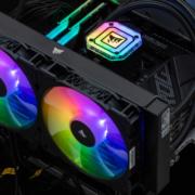 USCorsair H115i 精英版 280冷排评测 超亮灯效设计搭配强力散热