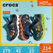 卡骆驰 Crocs 男女鱼骨大底沙滩鞋 Crostile树脂大底