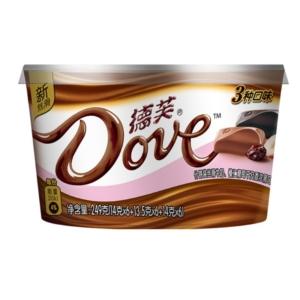 Dove 德芙 丝滑巧克力 224g