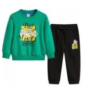 巴布豆  中大童装 卫衣长裤两件套 B01ZZ742400  运动套装  100-150CM62元