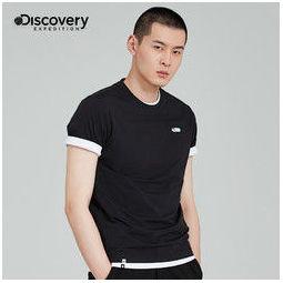 DISCOVERY EXPEDITION 探索频道 DAJI81869 男式速干T恤