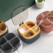 云云/调料盒套装家用组合调味盒调料瓶