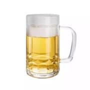 燃野 大号 带手柄啤酒杯 2个装8.8元包邮(需用券)
