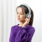 无线+50小时续航:MINISO 头戴式HiFi蓝牙耳机39.9元包邮