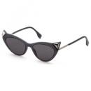 FENDI 芬迪 FF-0356S-807-IR 猫眼墨镜$79.99(折¥543.93) 1.9折