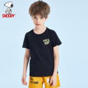 史努比官方正品儿童t恤纯棉
