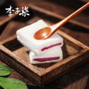 4.9分,纯米粉:540g 李子柒 紫薯米糕夹心面包
