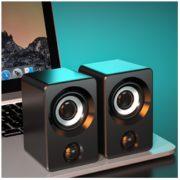HALFSun 影巨人 有线电脑音箱 标准版 黑色9.9元包邮(需用券)