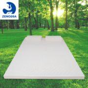 双面可用!ZENCOSA 最科睡 天然乳胶床垫 90*200*5cm(含内外套)