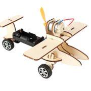 JIMITU 吉米兔 电动滑行飞机 材料包10.8元包邮(需用券)