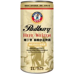 Padburg/帕丁堡 精酿 原浆啤酒 1L