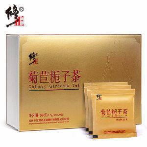 修正 菊苣栀子茶 20包 降尿酸 缓解痛风