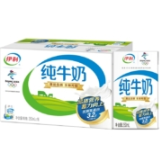 伊利 纯牛奶250ml*16盒/箱(礼盒装)*4件103.36元(双重优惠,合25.84元/件)