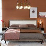 QuanU 全友家居 125605 轻奢橡木纹双人床 1.5m单床¥741.60 0.9折