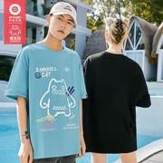 EPTISON 衣品天成 魔鬼猫联名 BMT093L 情侣款T恤70元(需要券)