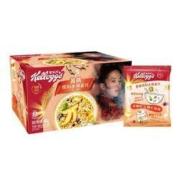 PLUS会员: Kellogg's 家乐氏 水果麦片 2盒装(黄桃味490g+蔓越莓味420g)