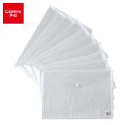 PLUS会员: Comix 齐心 A1707 透明文件袋 A4 10个装