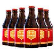 CHIMAY 智美 红帽 精酿啤酒 330ml 6瓶69.3元