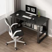 PADEN 电脑桌 钢木书桌 80*50cm 单桌