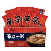 NONGSHIM 农心 韩式经典辛拉面多口味 7连包 840g 11.3元(需买4件,共45.2元)
