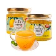 福事多 蜂蜜柚子 柠檬茶500g*2罐装