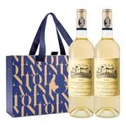 法国原瓶进口 拉蒙 波尔多AOC 布兰达酒庄甜白葡萄酒 750ml*2瓶