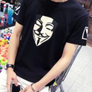凯恒千色  夏季男士纯棉短袖T恤