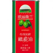 88VIP!olivoilà 欧丽薇兰 特级初榨橄榄油红标 1L 32.28元(需买2件,共64.55元)