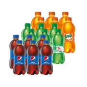 PEPSI 百事 碳酸饮料小瓶 300ml*12瓶16.8元包邮(需用券)