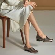Clarks 其乐  Juliet Palm 女士真皮一脚蹬乐福鞋  含税到手约¥321