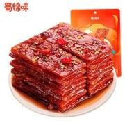 12点:蜀锦味 憨憨猪肉脯 香辣味 100g *3件26.73元(合8.91元/件)