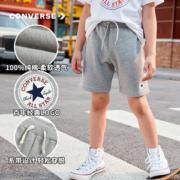 Converse匡威 中大童 100%纯棉 针织短裤