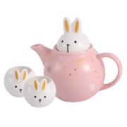COSTA 星空玉兔 茶壶陶瓷杯壶套装 1壶2杯