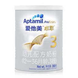 Aptamil 爱他美 卓萃系列 白金版 幼儿奶粉 国行版 3段 380g