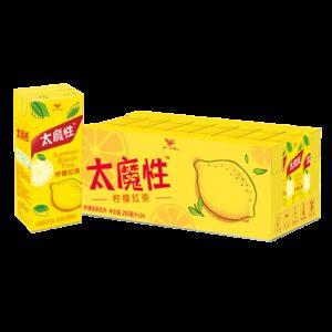 聚划算百亿补贴:统一冰 太魔性 柠檬红茶 饮料 250ml*24盒