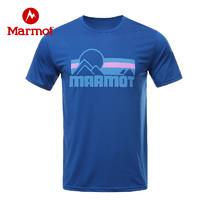 Marmot 土拨鼠 H44209 男士速干T恤
