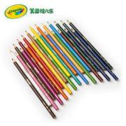 Crayola 绘儿乐 4012 彩色铅笔 长款 12色25元包邮(需用券)
