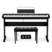 CASIO 卡西欧 电钢琴 EP-S120 琴+单踏板+X琴架+琴凳礼包
