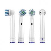 或护理 适配博朗欧乐B(Oral-B)电动牙刷头  4支装11.5元包邮(双重优惠)