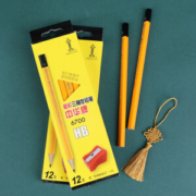 PLUS会员、凑单品: CHUNGHWA 中华铅笔 6700 粗三角杆HB铅笔 12支