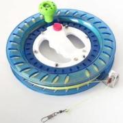 Paiter. 百特 风筝线轮 折叠小摇把蓝轮+200米2股轮胎线10.8元包邮(需用券)
