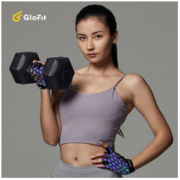 GLOFIT GFST018 发光防滑防茧健身手套36元包邮(需用券)
