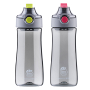 CHAHUA 茶花 户外健身便携塑料杯 2色可选 440ml14.9元包邮(需用券)