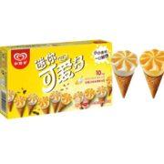 PLUS会员!和路雪 迷你可爱多甜筒 芒果酸奶口味 20g*10支