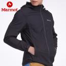 Marmot 土拨鼠 Trail Wind 男/女士防泼水透气连帽皮肤风衣