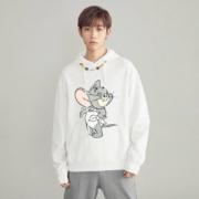 PEACEBIRD 太平鸟 猫和老鼠联名款 BWBFA482681 男士卫衣